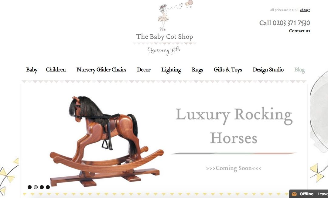Baby Cot Shop: Press Release